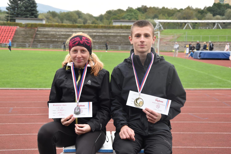 Dvě cenné medaile na Mistrovství Moravy a Slezska ve vícebojích