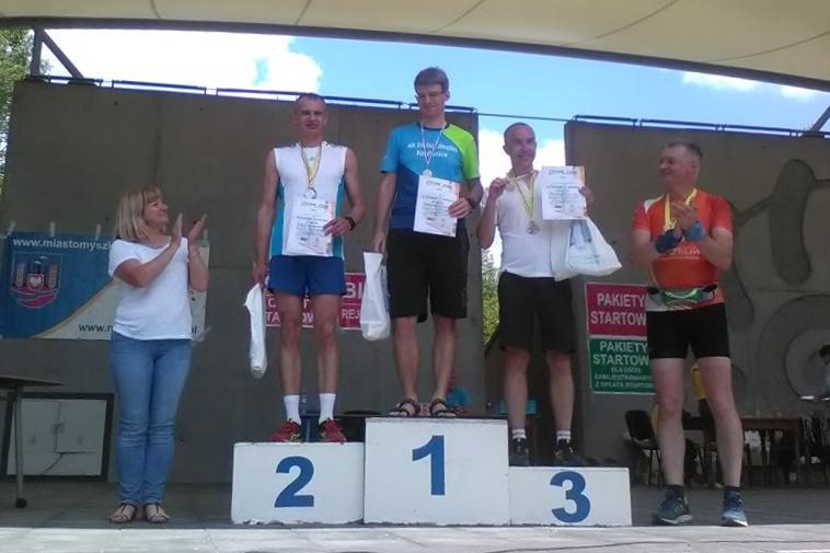 Naši běžci uspěli v Myszkówe