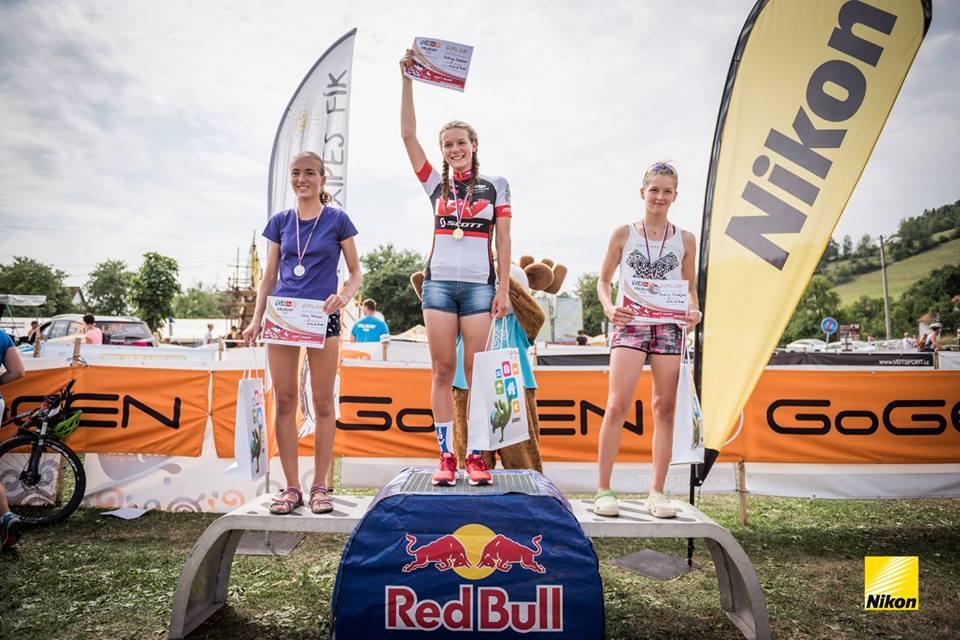 Ivana Máchová vybojovala na triatlonu stříbro