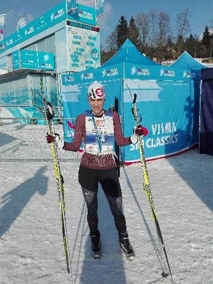 Vpád lyžařů do Krkonoš