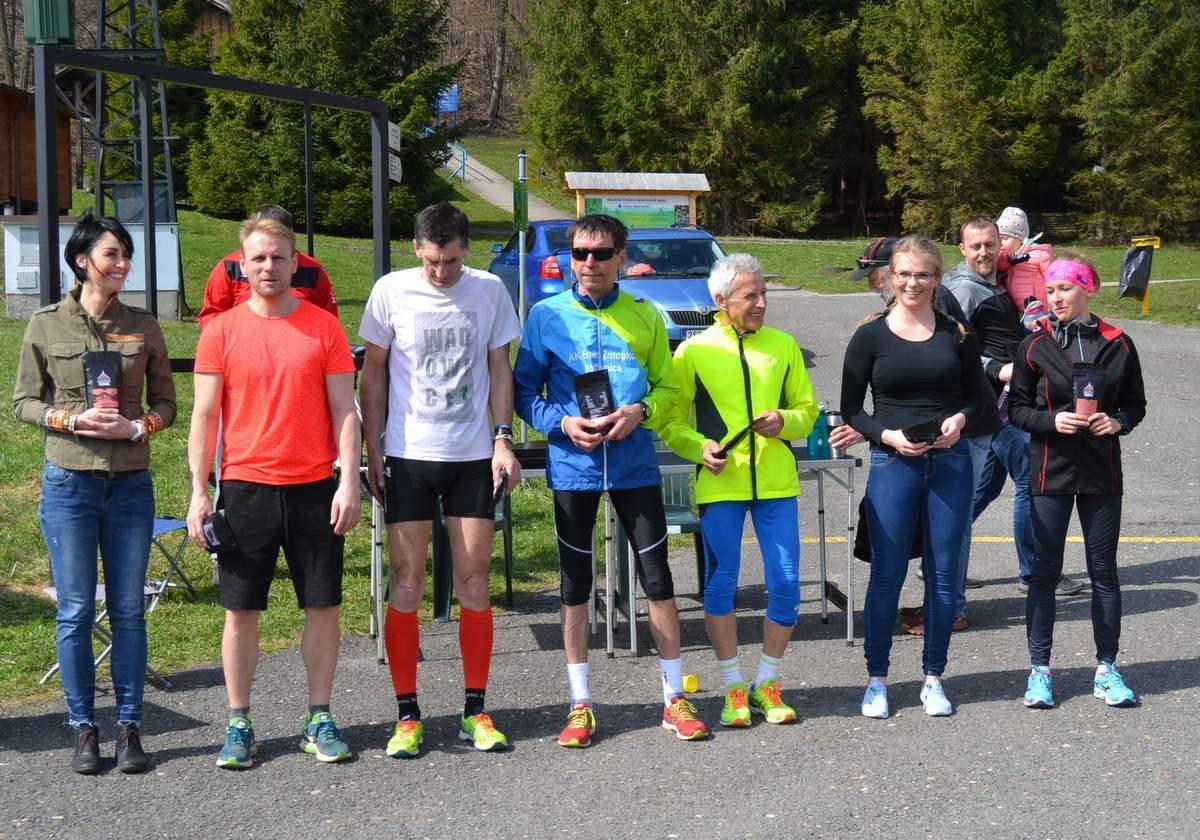 V úvodním závodu Frenštátského běžeckého poháru 2018 uspěli i naši běžci