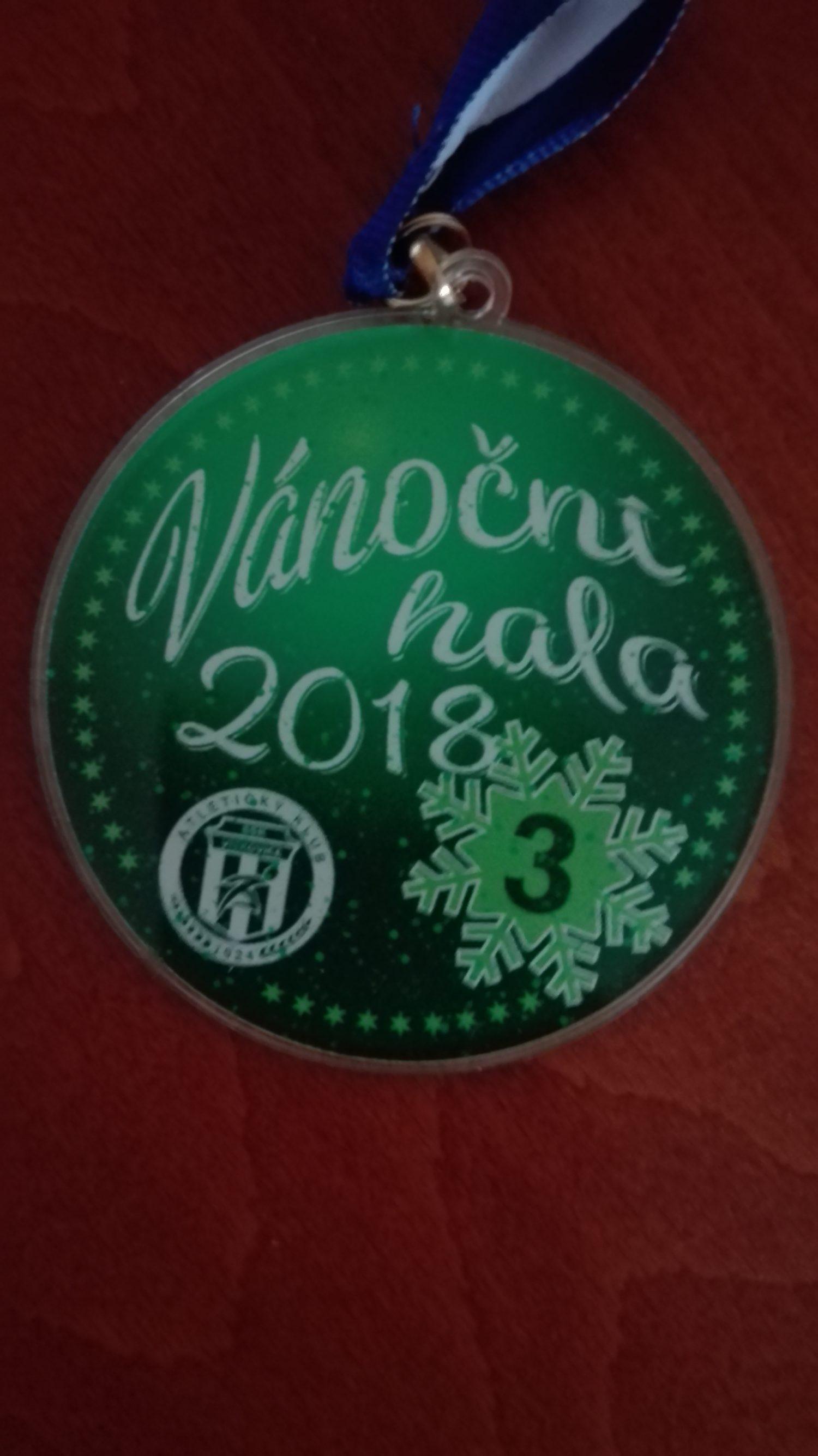 Vánoční hala přinesla pěkné výkony i medaile