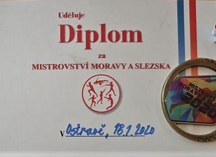 Titul a stříbro na Mistrovství Moravy a Slezska ve vícebojích