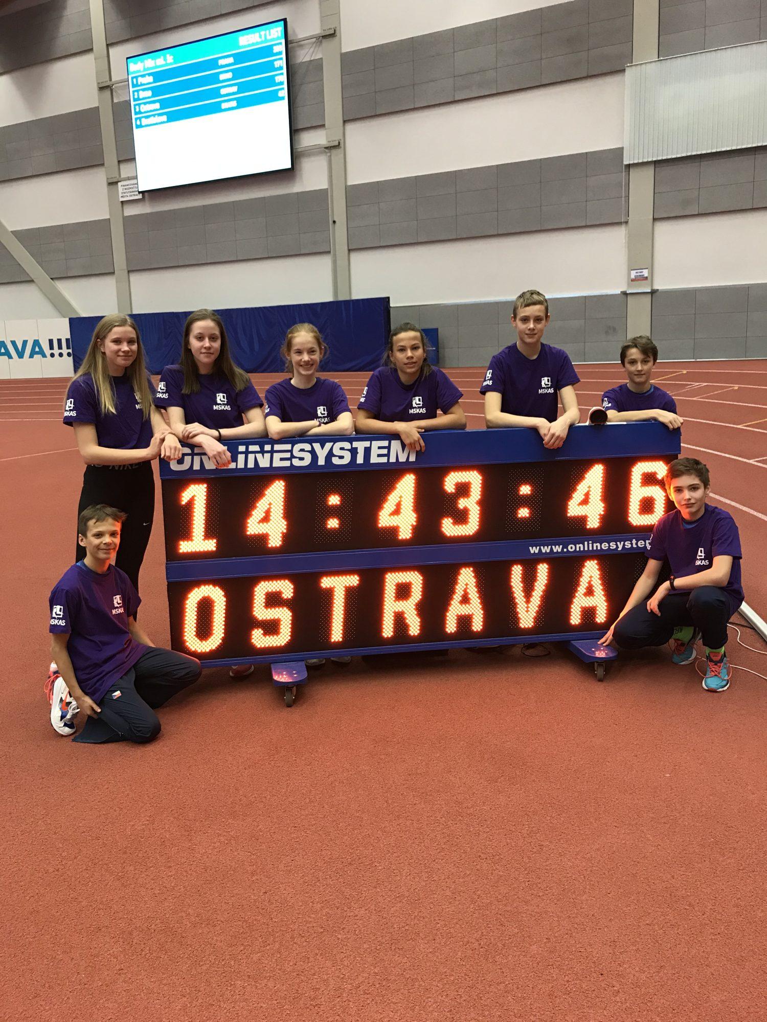 V meziměstském utkání reprezentovalo devět závodníků Kopřivnice