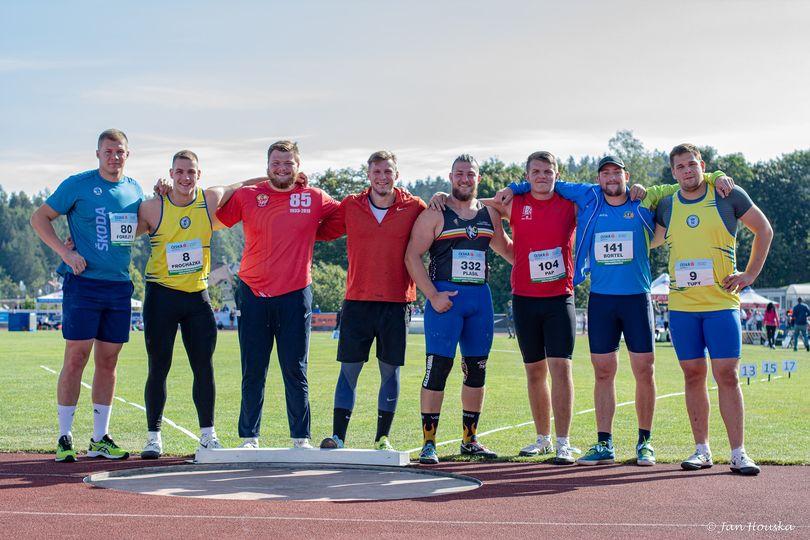 Tomáš Bortel bronzový na Mistrovství ČR do 22 let